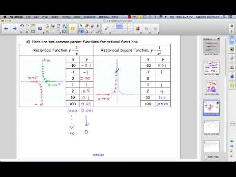 2_6a Precalculus: Rational Functions