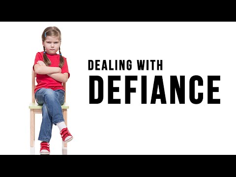 How to Handle a Defiant Child - Stop Back Talk