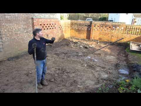 How To Build  A Garden ( the sub base)