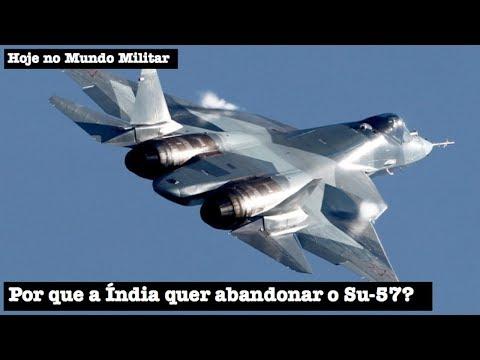 Por que a Índia quer abandonar o Su-57?