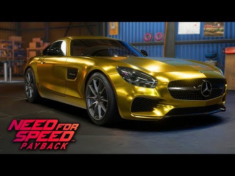 Need For Speed Payback - How to Make Gold and Chrome Plated (Paint Settings Combinations)