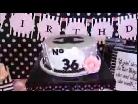 A CoCo Chanel Inspired Birthday Bash   Storytime