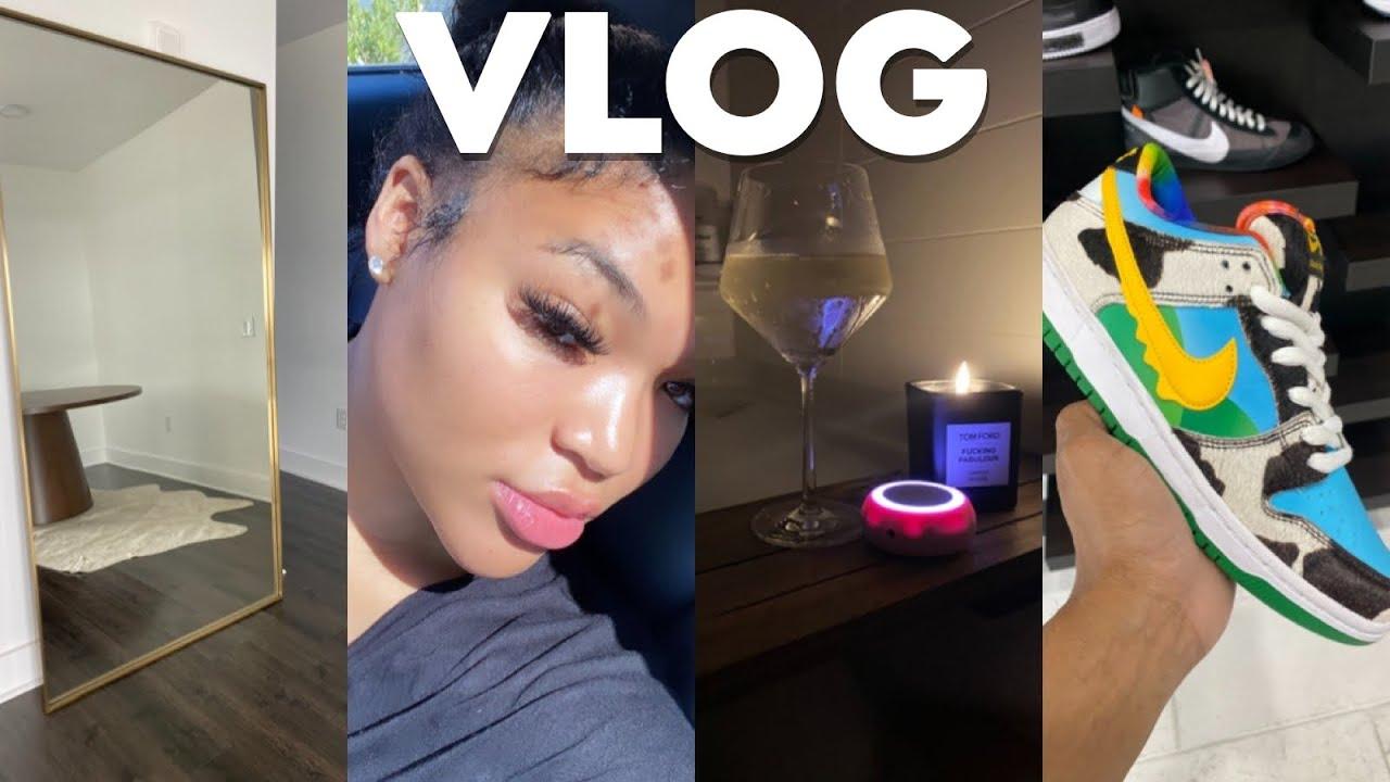 VLOG: APARTMENT UPDATES + GLASS SKIN MAINTENANCE + RUG SHOPPING + GIRL DATES & MORE | KIRAH OMINIQUE
