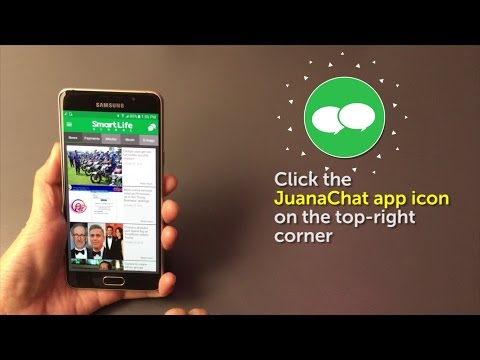 How to Download JuanaChat through the SmartLife Global App