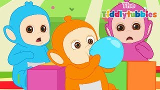 Teletubbies ★ NEW Tiddlytubbies 2D Series! ★ Episode 6: Balloons ★ Cartoons for Kids