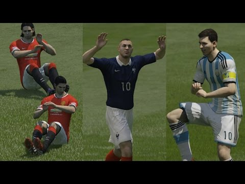 FIFA 15 ALL 18 Unlockable CELEBRATIONS TUTORIAL (PS4, Xbox ONE, PS3, Xbox 360, PC)