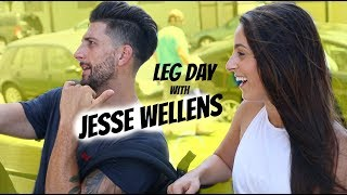 Leg Day at Golds Gym Venice with Jesse Wellens