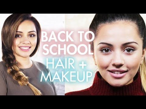 Kaushal Beauty Back To School Natural Makeup + Easy Braid Hair Tutorials Compilation