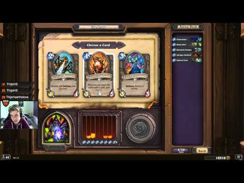 [Hearthstone] Arena Guide - How to make your deck and card decisions