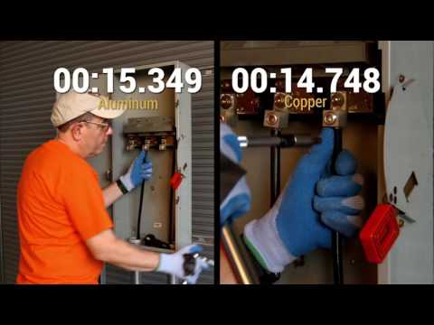 Difference Between Terminating Aluminum and Copper Conductors