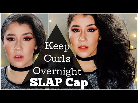 Keep Curls Overnight   How to use SLAP Cap To Preserve Any Style Overnight