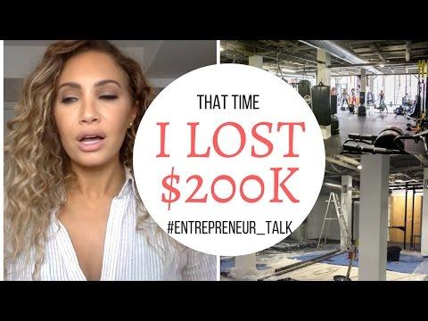That time I lost $200,000 #entrepreneur #storytime