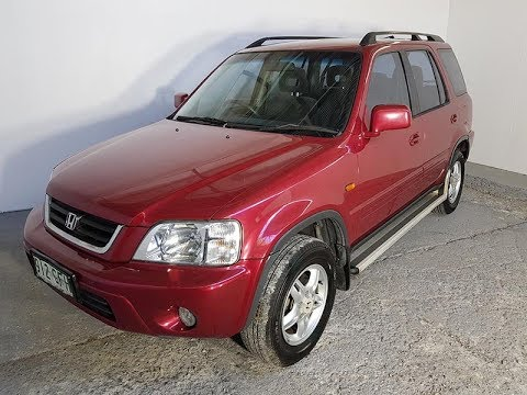 Automatic Cars. 4×4 SUV Honda CR-V Sport 2001 Review For Sale