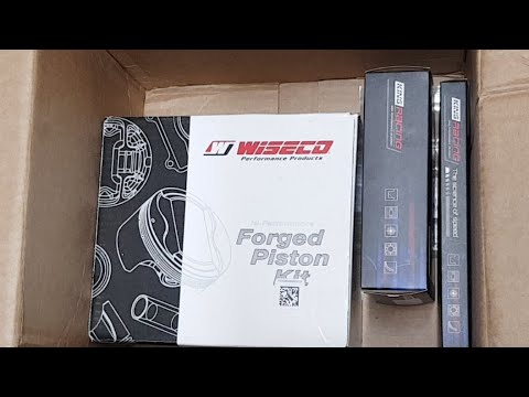 Forged Piston Kit Unboxing