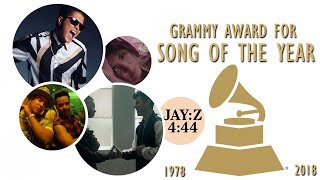 Download Grammy Award for: Song of the Year (1978-2018) Video
