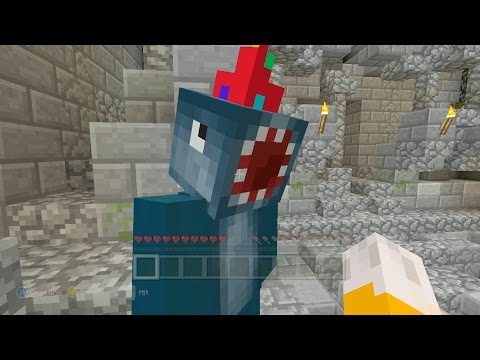 Minecraft Xbox - Herocriptic - Abanden God Castle (1)