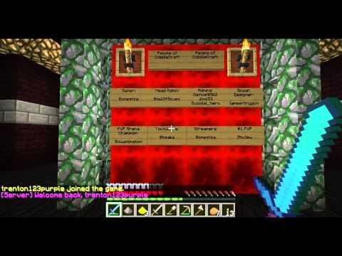 CobbleCraft Vanilla Minecraft Server Spawn Creation