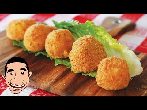Fried Mozzarella | Italian Fried Cheese Balls Recipe feat My Mum