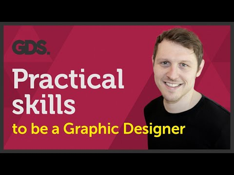 Practical skills to be a Graphic designer? Ep19/45 [Beginners Guide to Graphic Design]