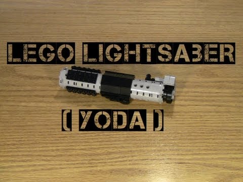Lego Lightsaber (Yoda)