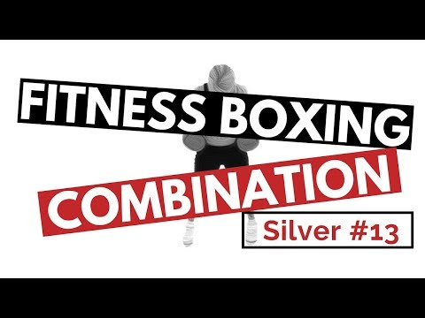 Fitness Boxing Combination, SILVER #13 for Punching Bag, Mirror Boxing, Focus Pads