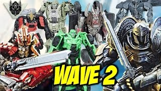 Transformers: The Last Knight Legion, Deluxe And Voyager Class Wave 2
