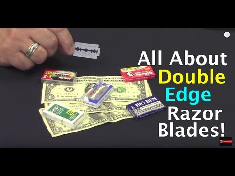 Learn All About Double Edge Razor Blades