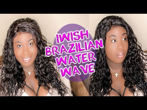 IWISH BRAZILIAN WATER WAVE HAIR REVIEW