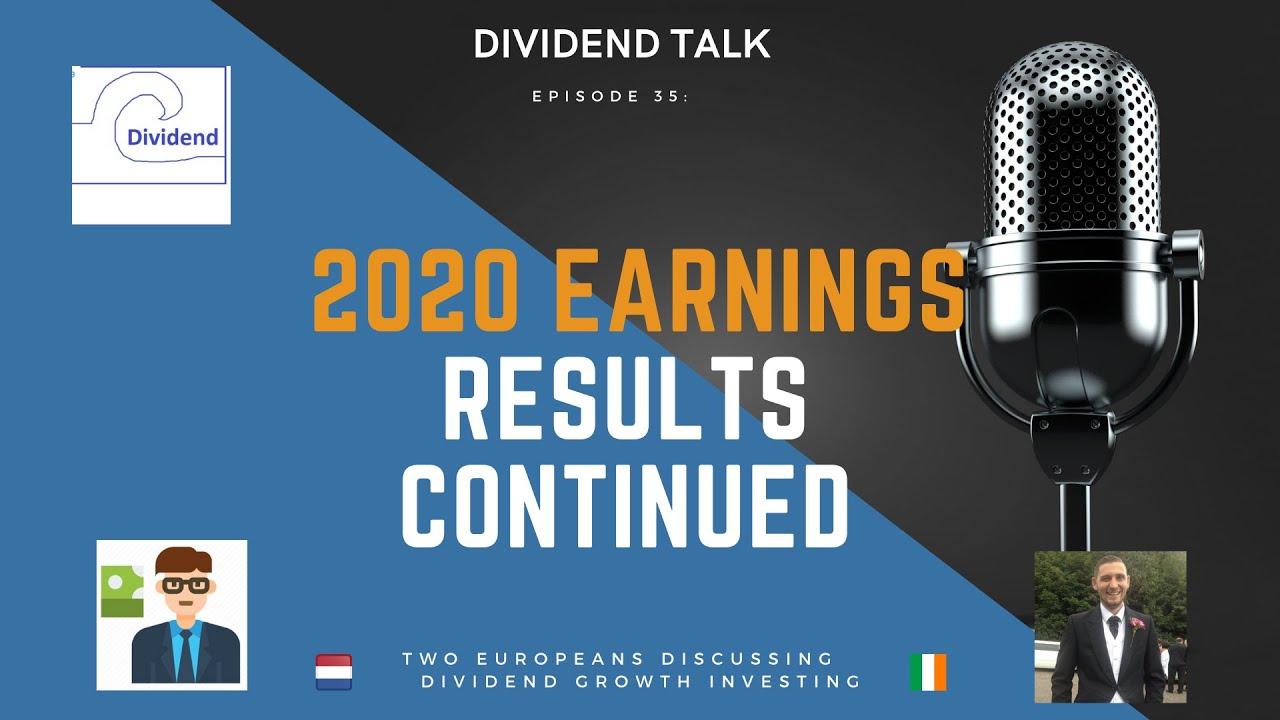 2020 Earnings Season continued | Dividend Talk | Eps 35 | $PEP $CSCO $KO $HEIA $RELX $OR $HD