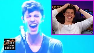 Download Shawn Mendes Reacts to His Voice Cracks #LateLateShawn Video