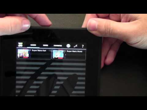 How to Play a Super Nintendo Game on the Kindle Fire HD