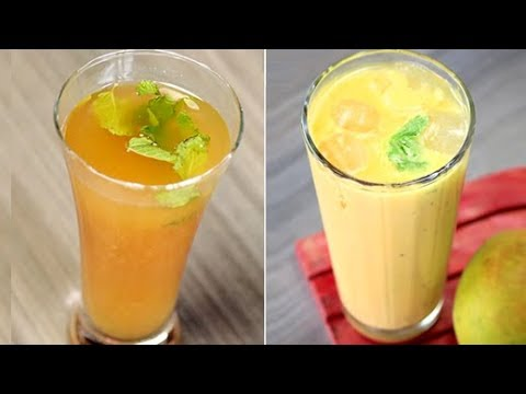 How To Make Summer Mango Drinks   Summer Mango Drinks Recipes   Homemade Mango Drinks Recipes