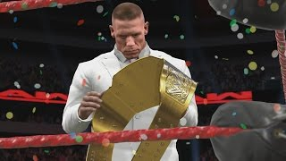 WWE 2K17 Story - John Cena Combines The Belts - Ep.5