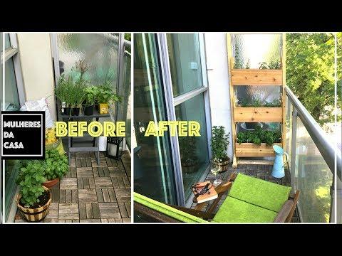 Vertical Garden / Vertical Garden for a Loft's Balcony