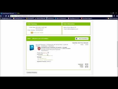 Use Microsoft DreamSpark Account to download softwares with keys!
