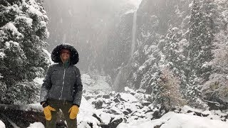 Yosemite During A Snow Storm - December 2018