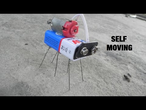 How to make Robot-Self moving at home-Bristle Bot