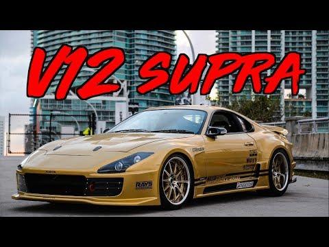 Top Secret V12 Supra Ride Along! - Smokey Nagata's Legendary Supra