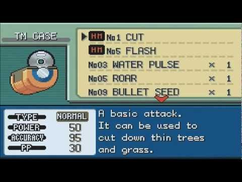 Pokemon Fire Red/Leaf Green: How To Get Flash