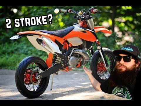 Street Legal KTM 2 Stroke!!! - Review