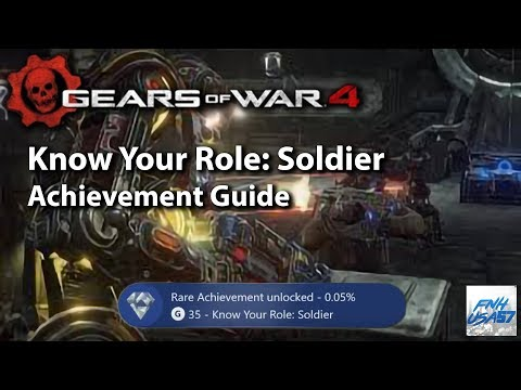 Know Your Role: Soldier Achievement Guide