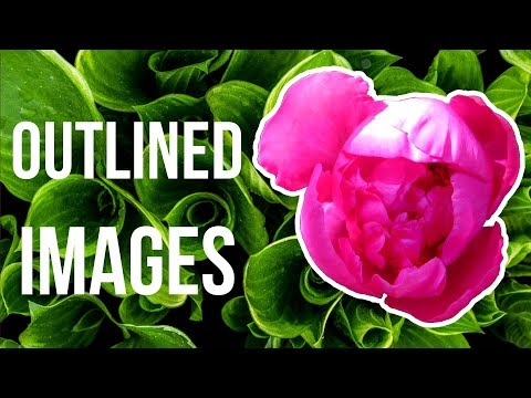 How to Outline Images in GIMP