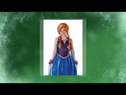 Anna From Frozen Costume