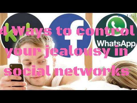 4 Ways to control your jealousy in social networks