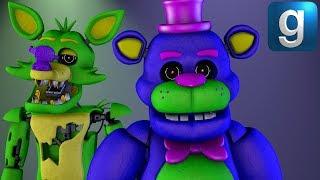 Gmod FNAF | Making Blacklight Freddy And Blacklight Foxy - 9tube tv