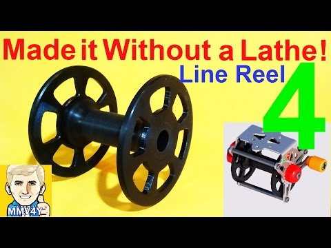 Wooden Speargun -Part-11 The Spool - NO LATHE! - Line Reel Part- 4