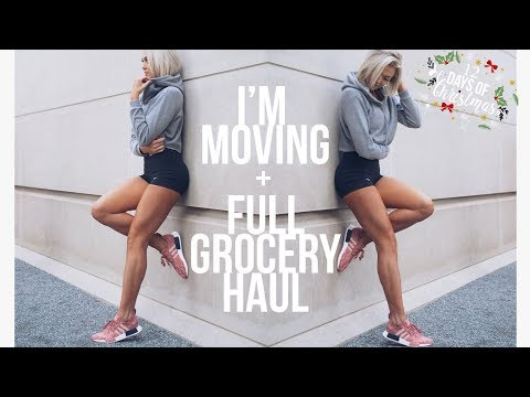 I'm Moving?! Full Grocery Haul - 12 Days of Christmas