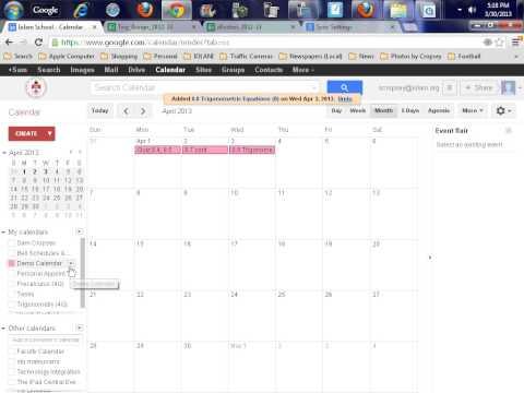 Google Calendar iPad How To (2)