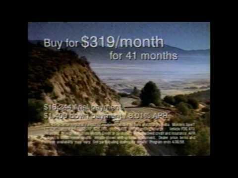Montero Sport Commercial - 1998