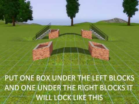 SIMS 3:HOW TO BUILD A BRIDGE
